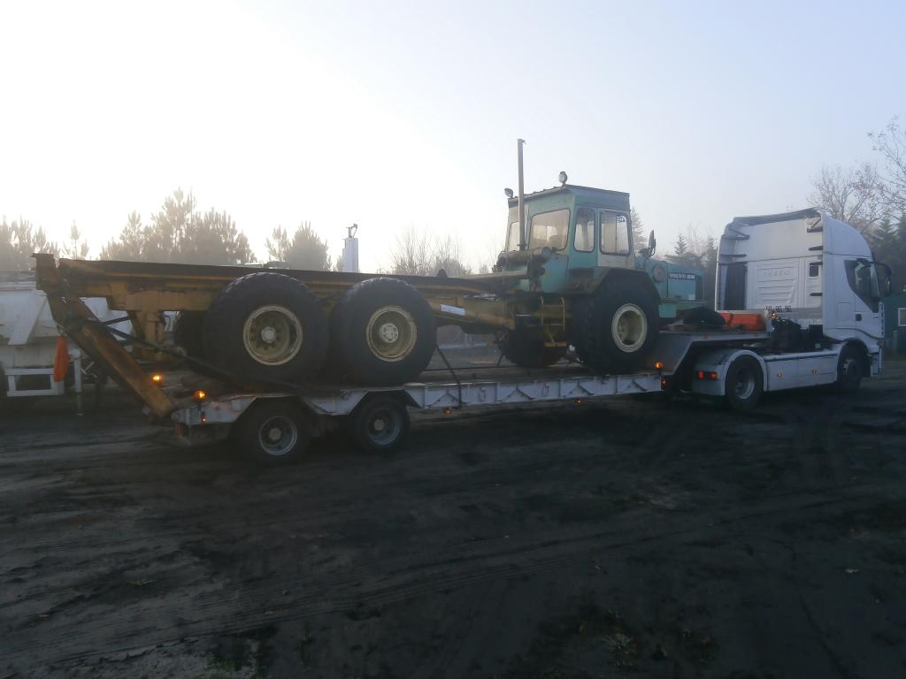 transport d'engin forestier